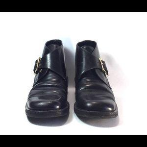 d1b768795bd Gucci Shoes - Gucci Women s Shoes Black Leather Monk Straps